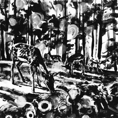 Untitled (b/w-study 14, 2011)