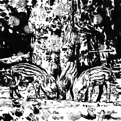 Untitled (b/w-study 29, 2012)