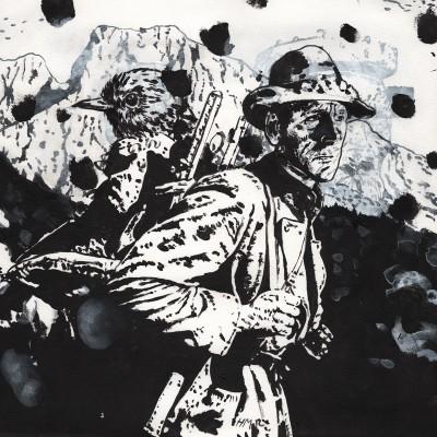 Untitled (b/w-study 31/2, 2012/15)