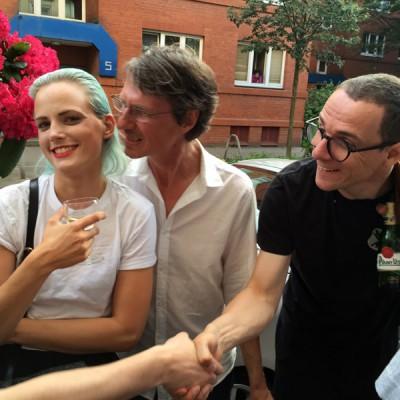 25 Jahre 4000 – Frida Mindt, 4000 und Stefan Marx