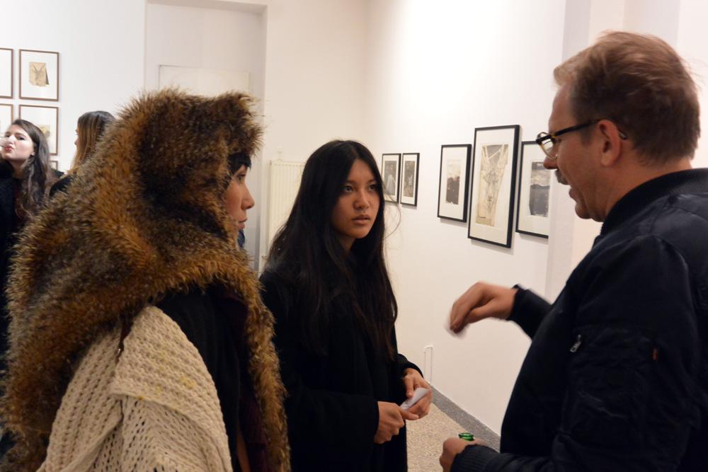 Exhibition Opening: Eiko Borcherding and Heiko Müller, 2016, Feinkunst Krüger, Hamburg, Germany