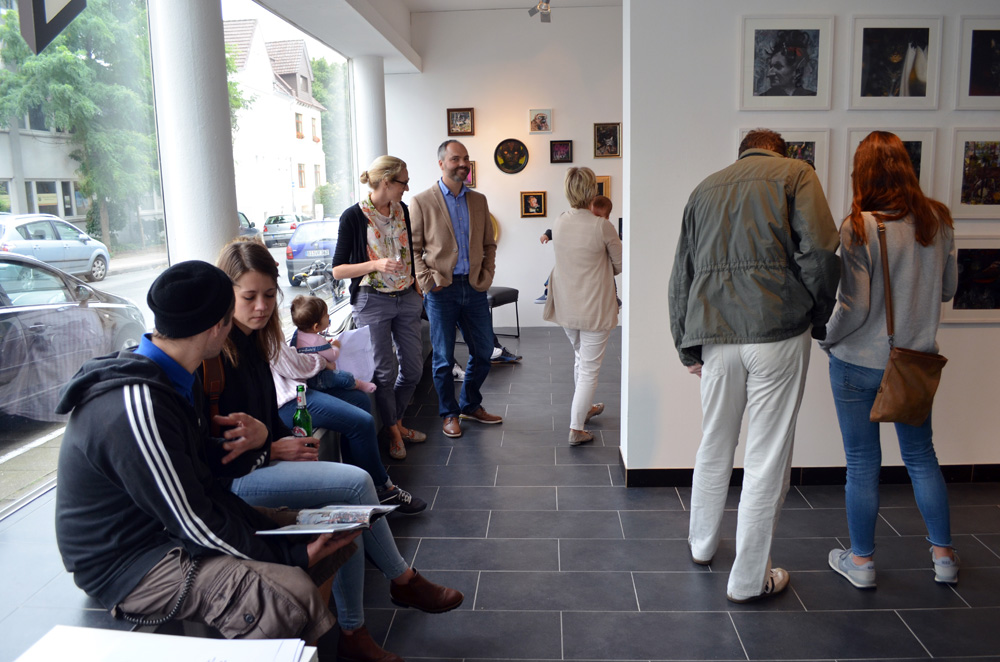 Ghost Lights – The Daily Mood of Heiko Müller,  Herr Beinlich Contemporary Fine Art Space, Bielefeld Germany